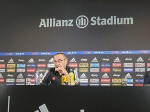 Juve, Sarri in conferenza: l'infortunio di Ronaldo, gli equilibri da trovare ed il prossimo avversario