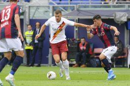 Bologna-Roma 1-2 |  le pagelle di CalcioWeb |  Dzeko regala un sorriso a Fonseca FOTO