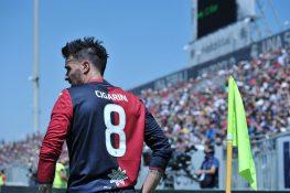 Infortunio Cigarini, si ferma il centrocampista del Cagliari