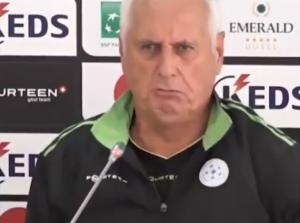 conferenza allenatore Kosovo