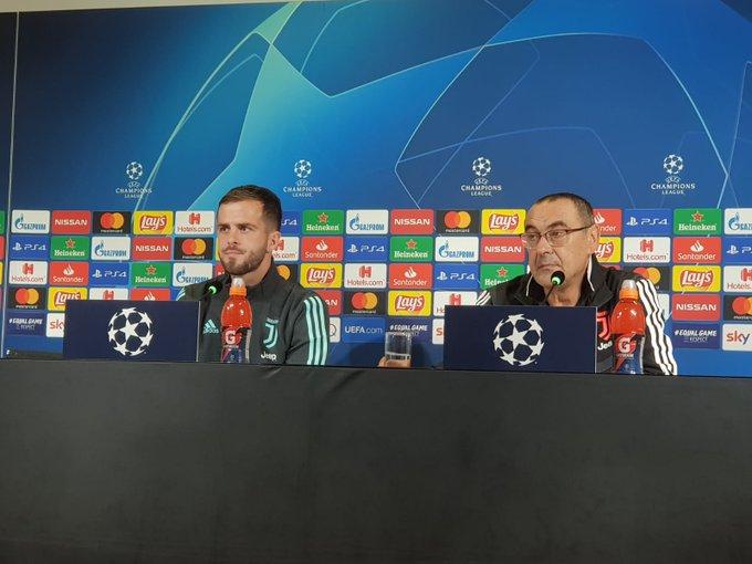 conferenza stampa Sarri