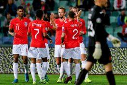 Risultati qualificazioni Euro 2020 – Inghilterra 'forza 6',