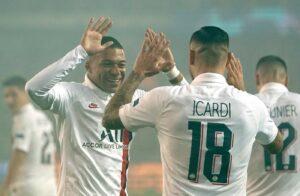 PSG esagerato con la premiata ditta Icardi Mbappé, Real e To