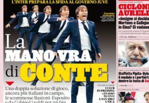 """La rassegna stampa di venerdì 18 ottobre – Le prime pagine di calcio: """"la ..."""