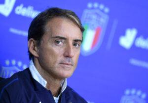 """Italia, Mancini: """"Un'ottima gara. Tonali non è Verratti, spero che Belotti ..."""