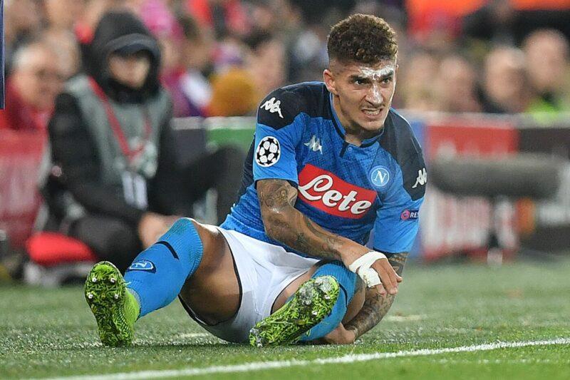 Di Lorenzo (Foto AFP/LaPresse)