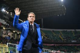 """Italia, Mancini soddisfatto: """"Non si fanno nove reti per caso. Sarà difficile scegliere i 23 per l'Europeo"""""""