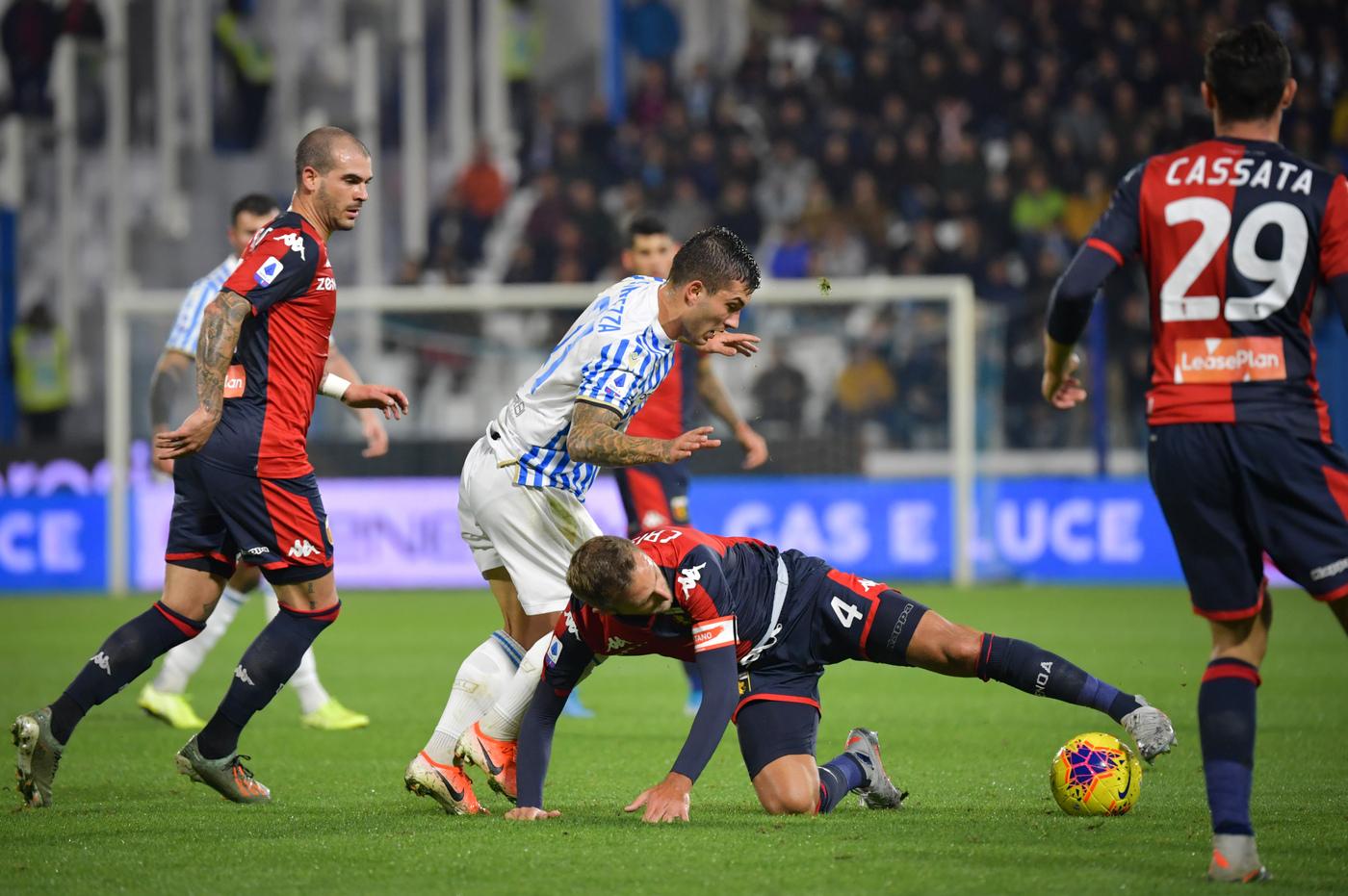 Risultati Serie A Live 13ª Giornata Pareggio Tra Spal E Genoa La Classifica Aggiornata
