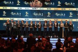 Gran galà del calcio |  tutti i premiati |  Cristiano Ronaldo miglior giocatore |  di