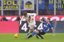 Inter Roma 0 0, le pagelle di CalcioWeb: Biraghi, dalla Cagn