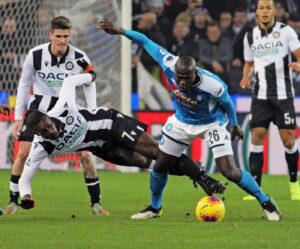 Udinese Napoli 1 1 live, Zielinski trova il pari!