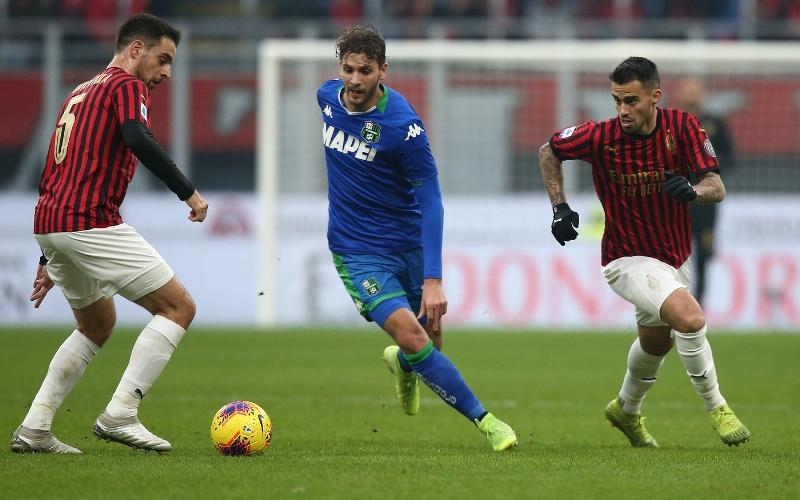Milan vs Sassuolo - Serie A TIM 2019/2020
