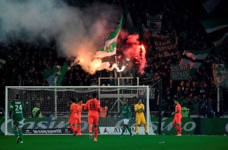 Saint-Etienne vs PSG - Ligue1