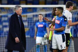 Napoli, il club ringrazia Ancelotti: giocatori in lacrime dopo l'esonero [FOTO]