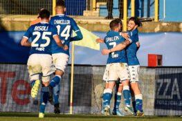 Il Brescia gioca a tris, il Lecce sta a guardare: al Rigamon