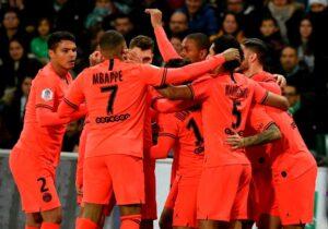 Risultati Ligue 1, 18ª giornata: il Psg gioca a poker a St E