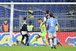 Lazio Juventus 2 1 live, espulso Cuadrado e gol di Milinkovi