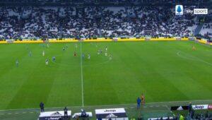 Juventus Parma, enormi vuoti allo Stadium: la gente non può