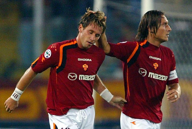 Totti e Cassano