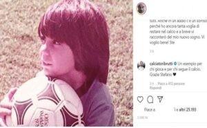 """Ex portiere di Serie A commuove: """"ho deciso di ritirarmi, addio al mio ..."""