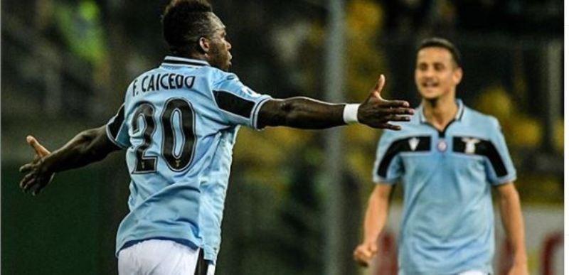 Caicedo Parma-Lazio