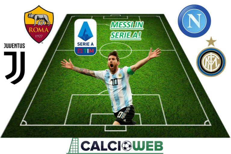 Messi in Serie A