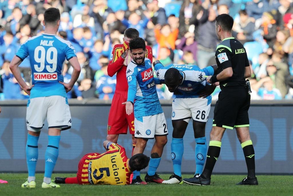 """Napoli-Lecce: """"arbitro arrogante, le regole si ..."""