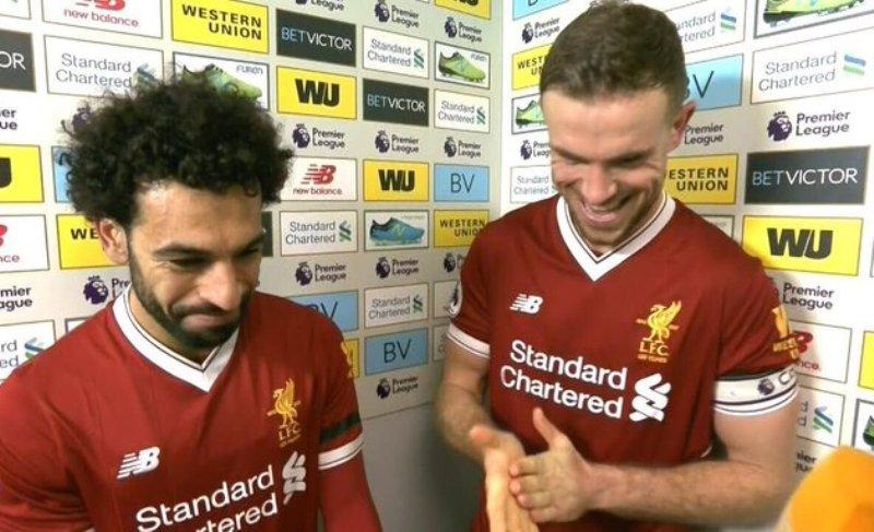 Salah Henderson Liverpool