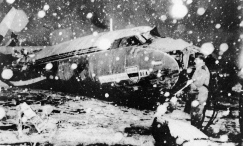 Tragedia aerea Manchester United 1958