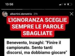 Albertini Inzaghi Instagram