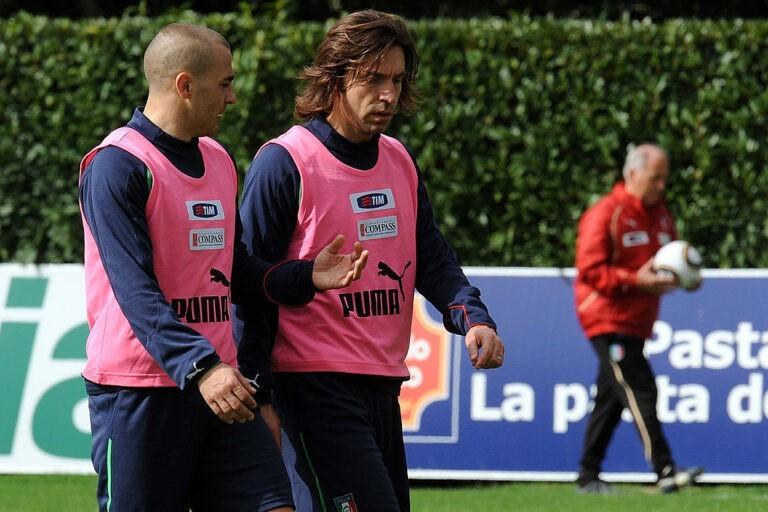 Cannavaro e Pirlo