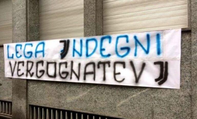 protesta tifosi Inter Lega