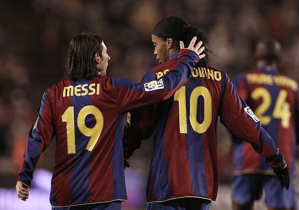 Messi e Ronaldinho