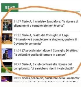 confusione calcio italiano