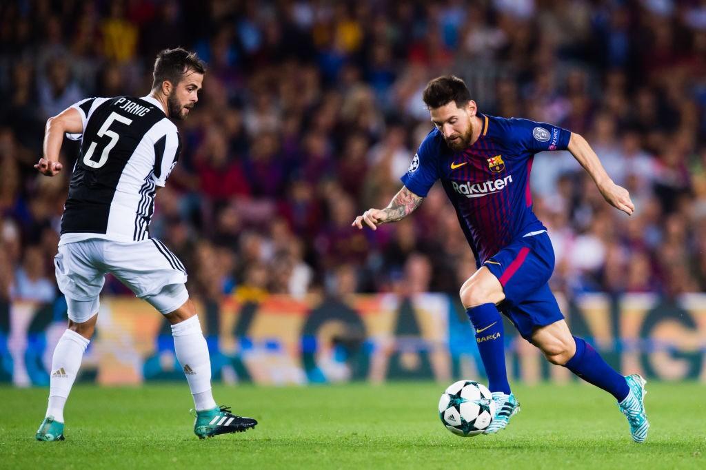 Pjanic Messi