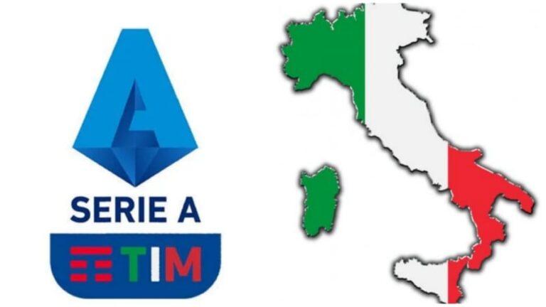 serie a cartina italia