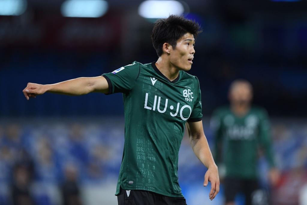 Tomiyasu (Photo by Francesco Pecoraro/Getty Images)