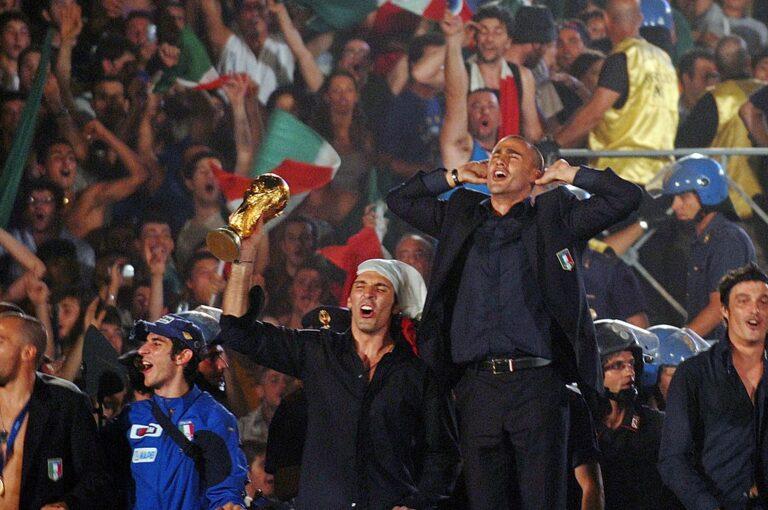 Buffon Cannavaro Coppa del Mondo
