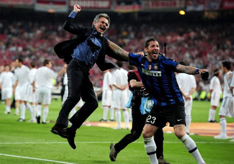 Mourinho e Materazzi