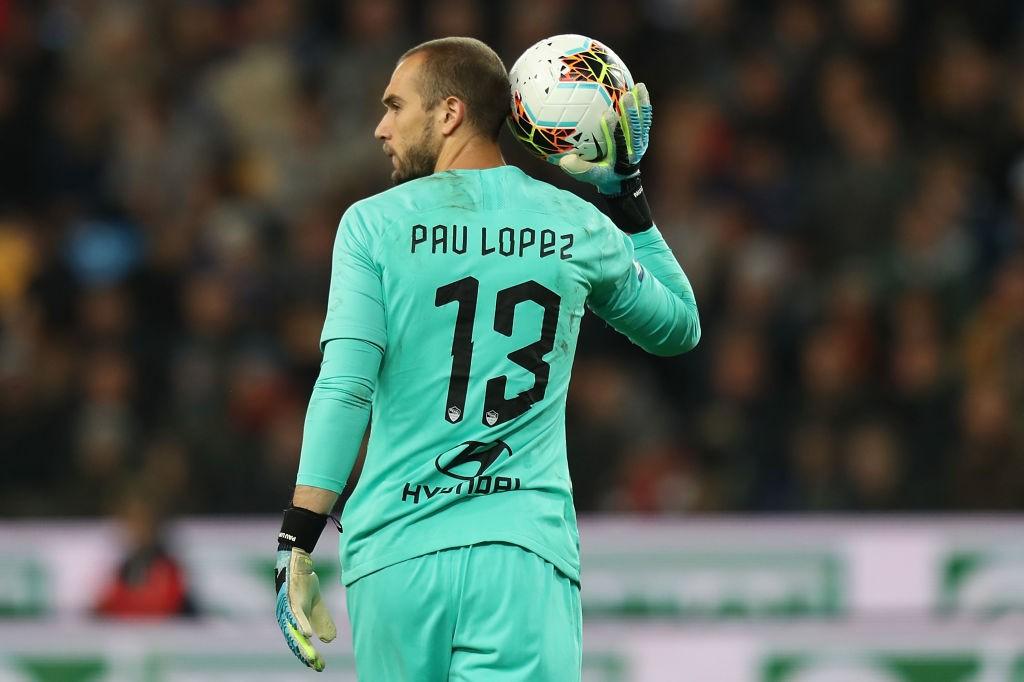 Pau Lopez (Photo by Gabriele Maltinti/Getty Images)