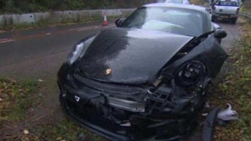incidente Porsche