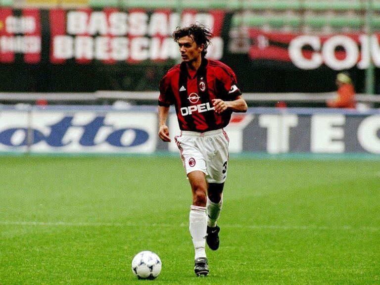 Maldini (Photo by Allsport UK/Allsport/Getty Images)