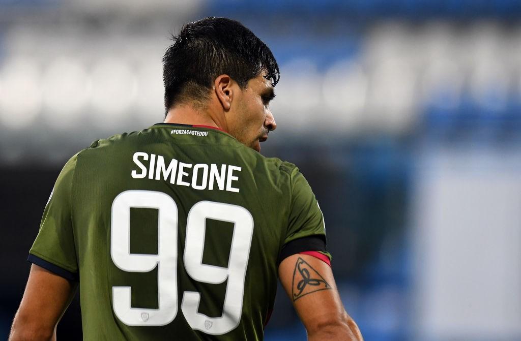 Simeone (Photo by Alessandro Sabattini/Getty Images)