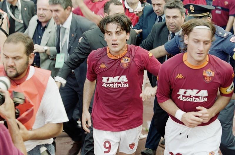 Montella e Totti - Photo Getty Images