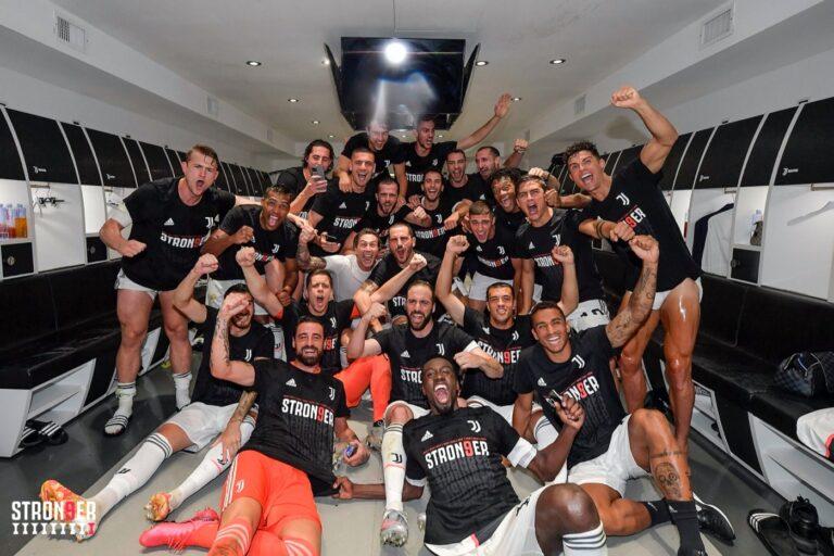 Foto Twitter Juventus
