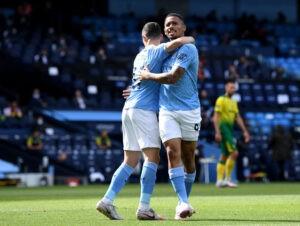 Manchester City v Norwich City