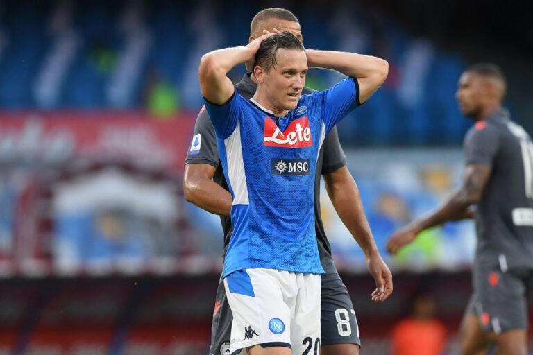 Zielinski (Photo by Francesco Pecoraro/Getty Images)