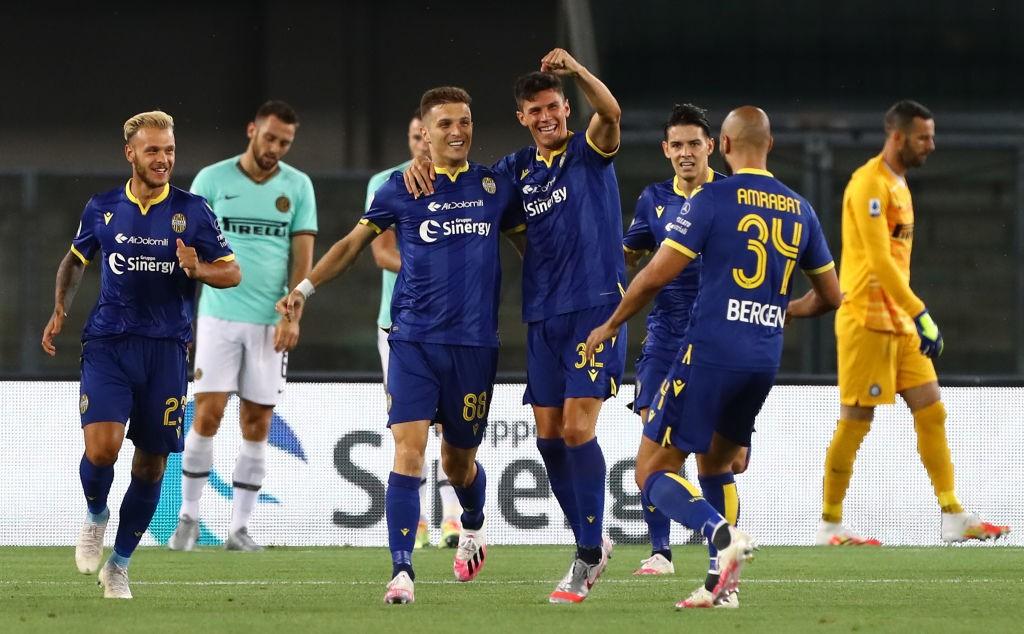 Verona Inter 2 2 Le Pagelle Di CalcioWeb Skriniar Fa Il