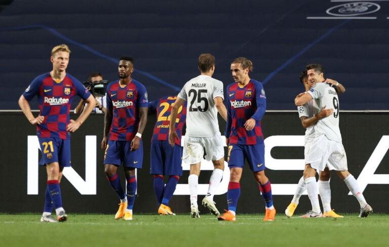 Barcellona-Bayern Monaco