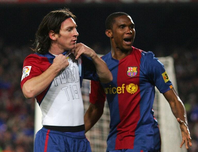 Messi e Eto'o